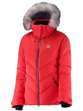 Salomon Icetown JKT W Jacke für Damen, Farbe Rot, Größe XS