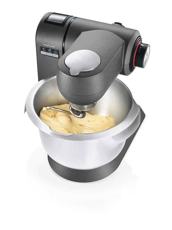 Bosch MUMXX40GGB 1600W 5.4L Gris - Robot de cocina (5,4 L, Gris, Botones, Grueso, Fino, Acero inoxidable, Metal): Amazon.es: Hogar