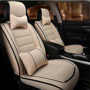 Amazon Com Auto Xthe New All Inclusive Linen Fabric Car Seat