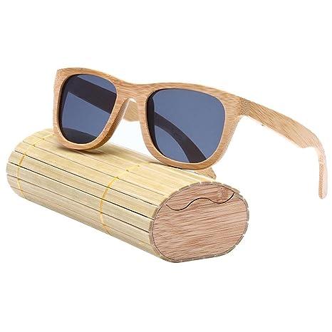 """Gafas de sol polarizadas para hombre y mujer estilo """"vintage"""" con montura de"""