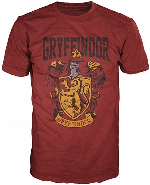 ce0cbf81806f5 Amazon.com  Harry Potter- Gryffindor Shield T-Shirt Size S