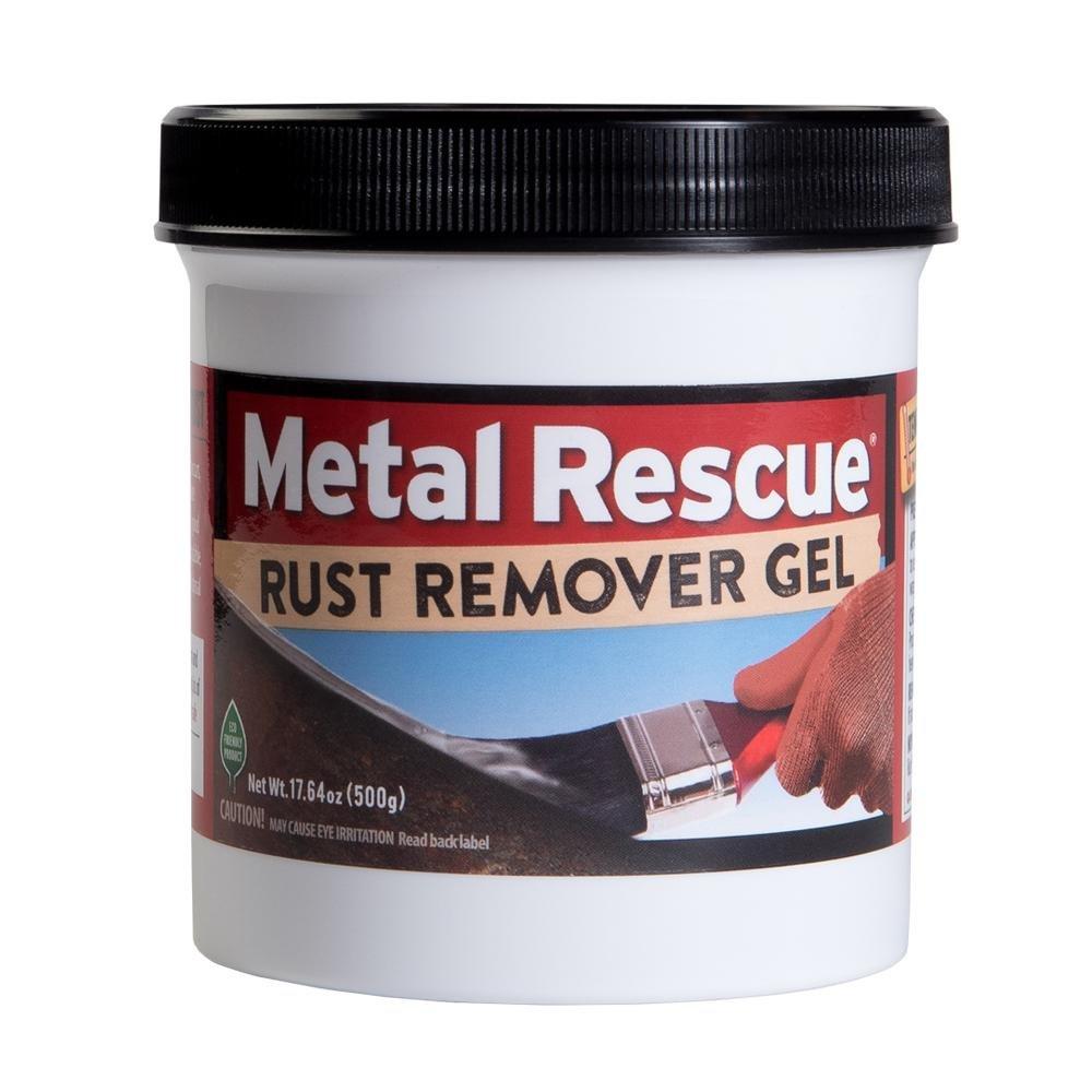 Workshop Hero WH003227 Metal Rescue Rust Remover Gel, 17.64 fl. oz, 1 Pack