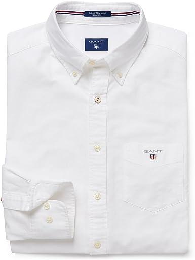 GANT THE OXFORD SHIRT LS BD - Camisa para hombre: Amazon.es: Ropa y accesorios