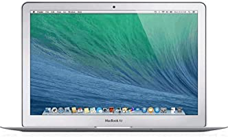 Apple MacBook Air 13.3-Inch Laptop MD760LL/B, 1.4 GHz Intel i5 Dual Core Processor (Refurbished)