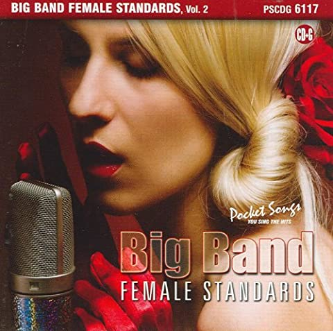 Big Band Female Standards, Vol. 2 (Karaoke CDG) - Pocket Songs Karaoke