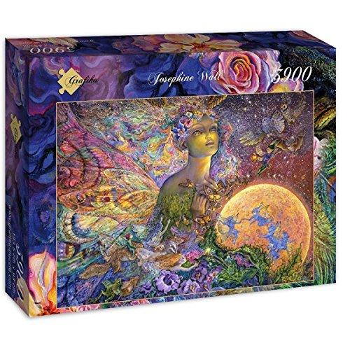 Puzzle 3900 Teile - Josephine Wall - Titania Titania Titania 8595b0