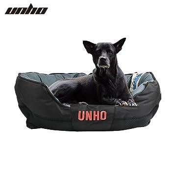 UNHO Cama para Perros Cómodo Casa para Mascotas Cojín Desmontable Impermeable y Lavable para Perro Gato Cachorro Tamaño M 23 x 53 x 70cm: Amazon.es: ...