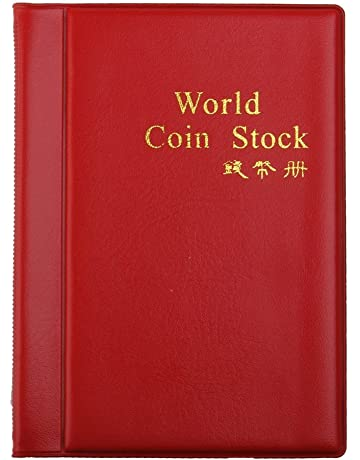 8d4505c8c9 LEORX Moneta Album Moneta tasche 120 moneta titolari collezione Storage  Album libro