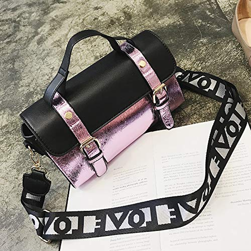 Mode Port du Bag Version épaule Petit Sac Rose Vent Sac Main à Sauvage Sac rétro coréenne WSLMHH Femme Seau Messenger marée qHwxvXpH7