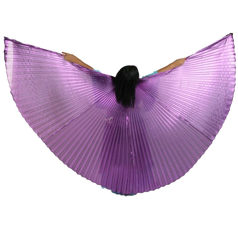 ベリーダンスIsis Wings B009NGD1O4 パープル