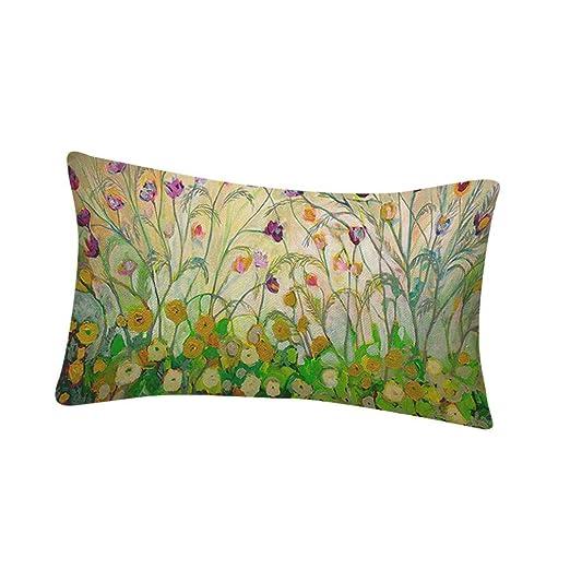 Fundas de cojín, HEHEM estampado de flores, sofá, cama ...
