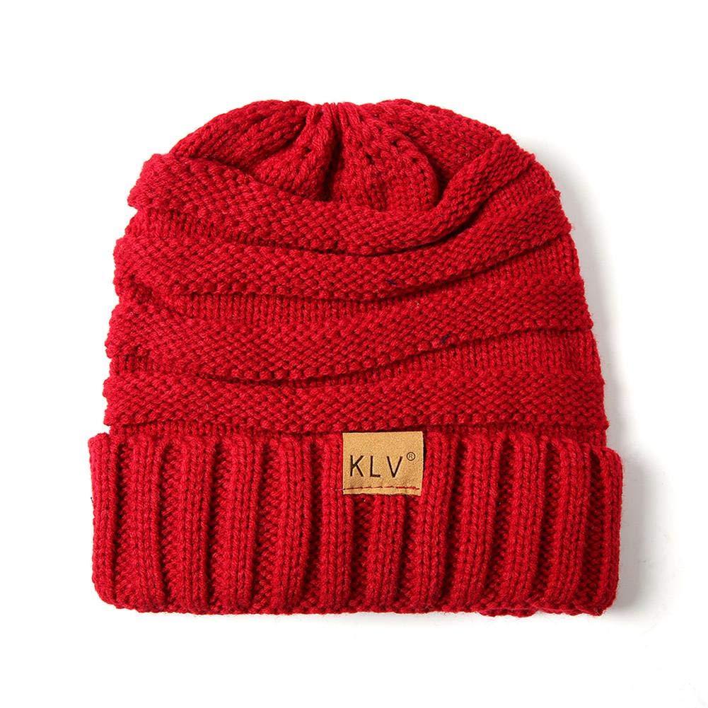 Winter Children Cap Wool Knitted Hat Parent-Child Series Hat for Adult Children
