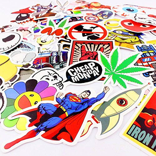 Xpassion Car Stickers Decals Pack 100 Pi