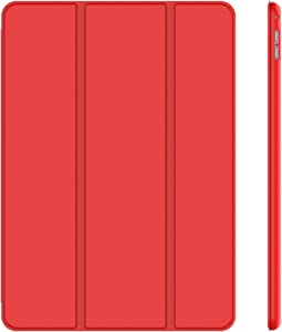 JETech Case for iPad Pro 12.9 Inch (1st and 2nd Generation, 2015 and 2017 Model), Auto Wake/Sleep, Red