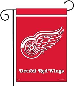 """Sparo Detroit Red Wings Garden Flag Hockey Licensed 12.5"""" x 18"""""""