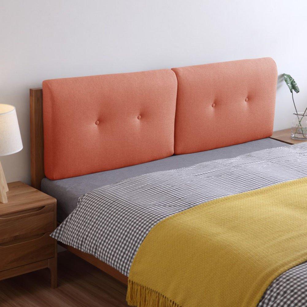 QIANGDA クッション ベッドの背もたれヘッドボード リネン スポンジライニング バンパー ウォッシャブル ダブルベッド、 10色、 4サイズあり、 1項目 (色 : 9#, サイズ さいず : 75 x 50 x 10cm) B07D3P5JKB 75 x 50 x 10cm|9# 9# 75 x 50 x 10cm