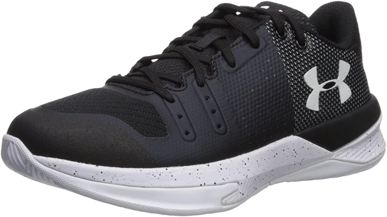 Under Armour Women's Block City Volleyball Shoe, (010)/黒, 11.5