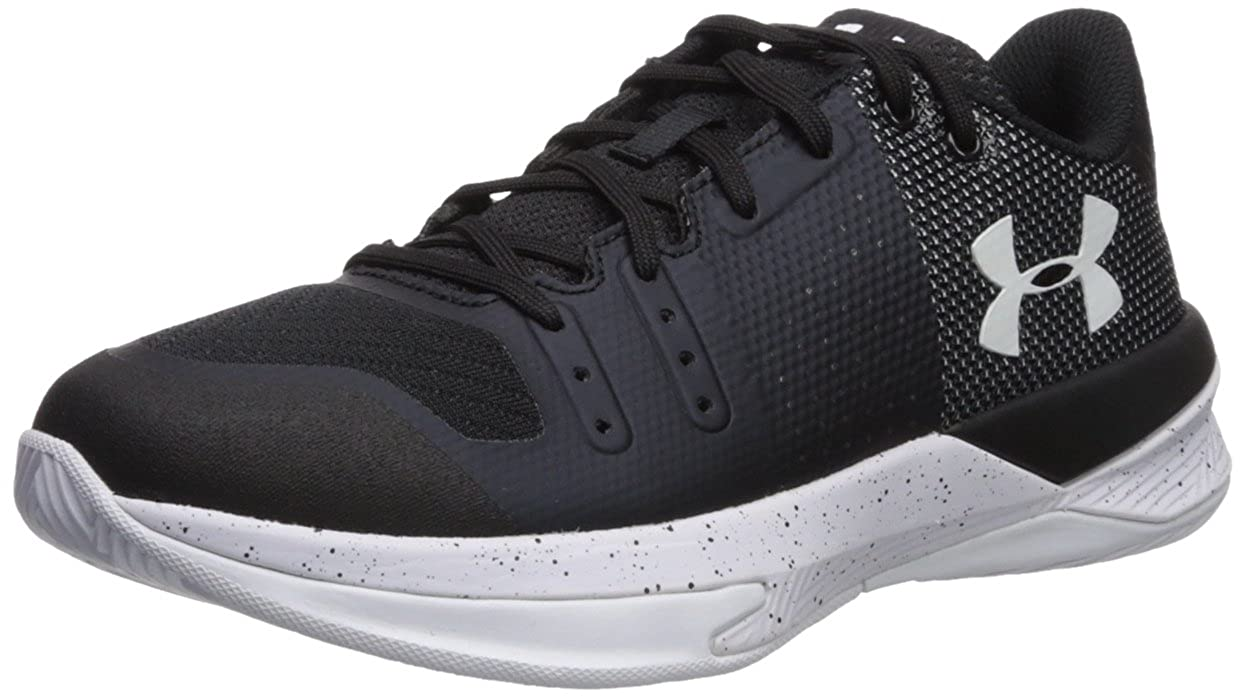 Under Armour Women's Block City Volleyball Shoe, (010)/黒, 6.5