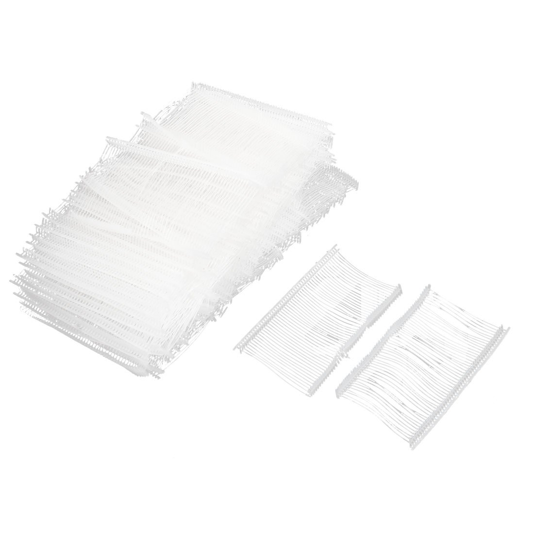 Clothes Label Rope Goods Price Tag Strip Line 5000pcs White