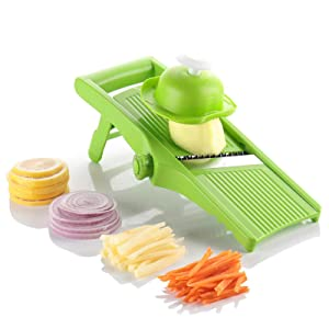 Simple and convenient adjustable Datura slicer, vegetable cutter, planer peeler for processing fruits, vegetables, potatoes, onions, potatoes, carrots