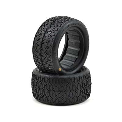 J Concepts 307605 Dirt Webs Tires-Gold Compound- Fits 2Buggy Rear Wheel: Toys & Games
