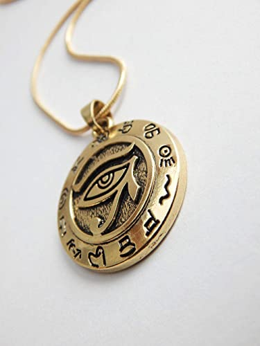Amazon com: IS Designs Eye of Horus Pendant Eye of RA