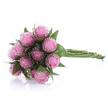 Amazon De Lianle Bouquet Fruit Kunstliche Brombeer Diy Deko