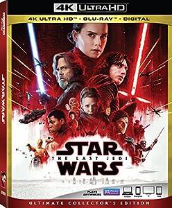 Cover Image for 'Star Wars: Episode VIII: The Last Jedi [4K Ultra HD + Blu-ray + Digital]'