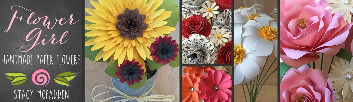 Amazon flowergirl paper flowers handmade mightylinksfo