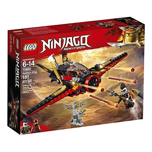 61eeiaBTIIL - LEGO NINJAGO Masters of Spinjitzu: Destiny's Wing 70650 Building Kit (181 Piece)