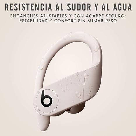Powerbeats Pro - Auriculares intraurales inalámbricos - Chip Apple H1, Bluetooth de Clase 1, 9 horas de sonido ininterrumpido, resistentes al sudor - Marfil: Beats: Amazon.es