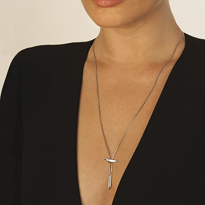 Hot Diamonds Love Lariats Doting Dove Necklace of Length 69cm YF4KuW