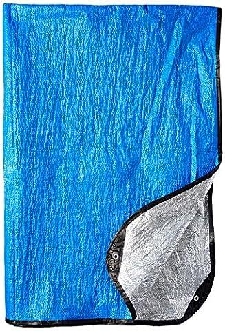 Grabber All Weather Blanket, Blue 5' x 7'