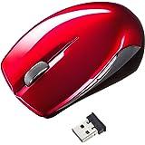 サンワサプライ ワイヤレスマウス スピードスクロール レッド MA-WBL28R