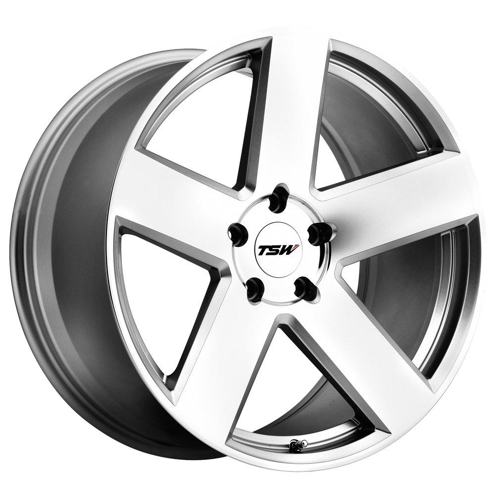 TSW BRISTOL Silver Wheel (17x8''/5x114.3mm ,+20mm offset)