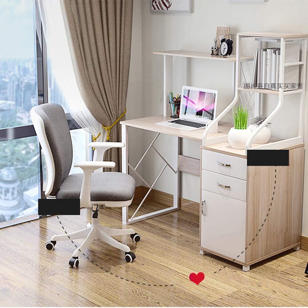 ZZHZY BBGS kontorstyg svängbar stol, femstjärnig fot fritidsstol datorstol, med lyft och rotationsfunktion, perfekt för hushåll kontor kontor (färg: E) D