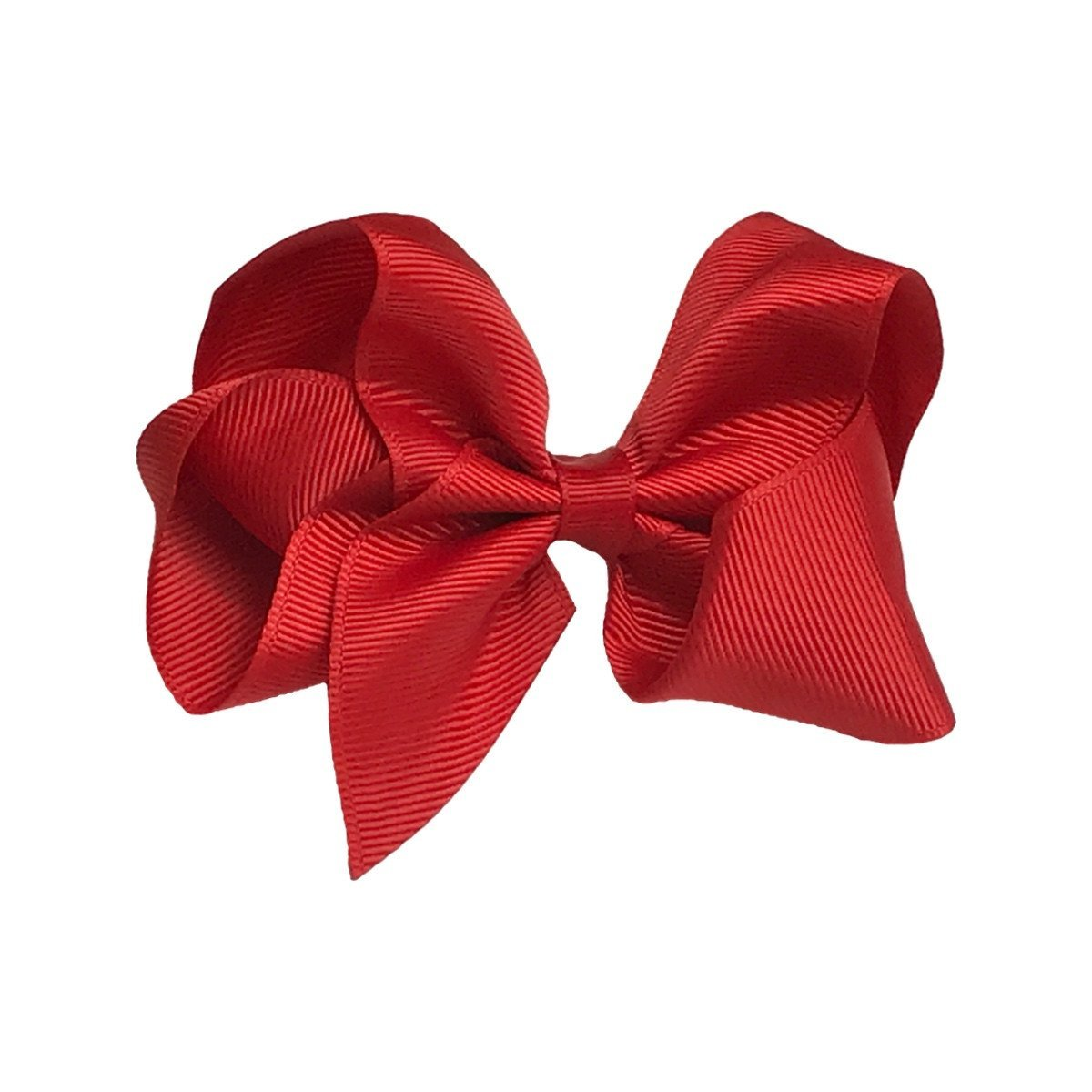 Girls 4'' Solid Color Grosgrain Ribbon Hair Bow
