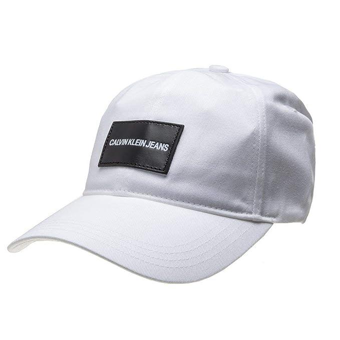 Calvin Klein - Gorra K50K504562 107 - Blanco, U: Amazon.es: Ropa y ...
