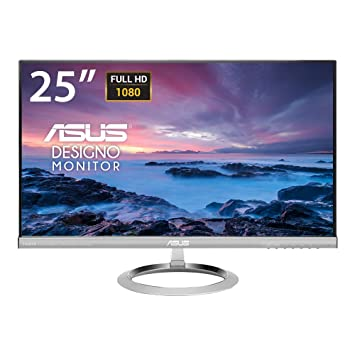 Asus Designo MX259H 25 Inch Ultra Low Blue Light IPS LCD Monitor Dual HDMI