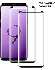 Flysee Vetro Temperato per Samsung Galaxy S9, [2-Pack] Pellicola Protettiva per Samsung S9, HD Chiaro, Anti Olio, Senza Bolle [9H Durezza Anti-Graffio]