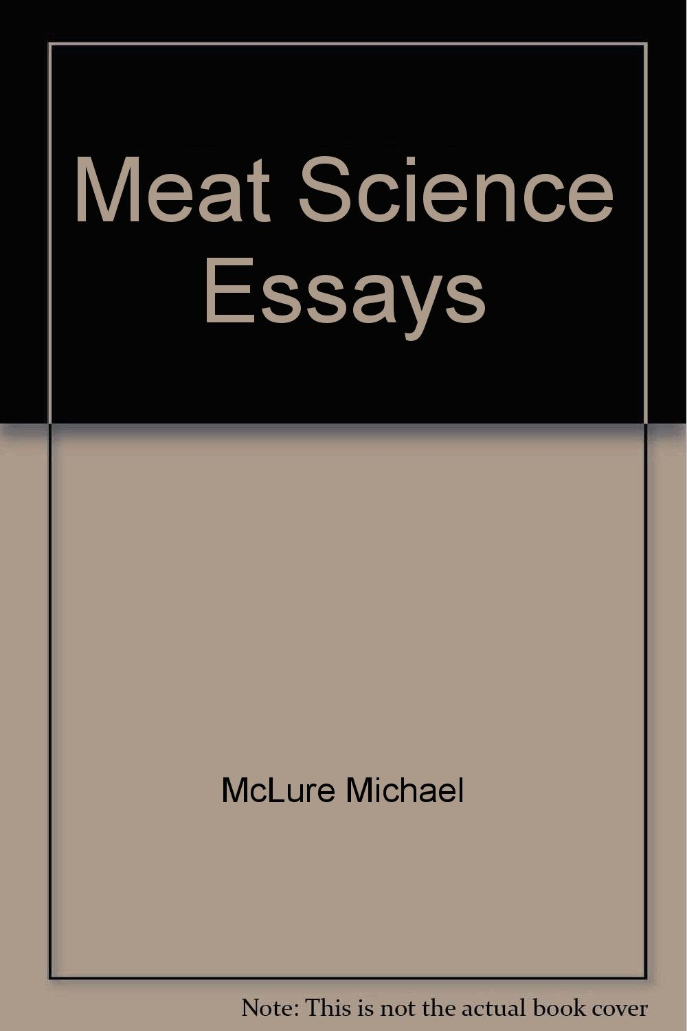 Meat Science Essays Michael Mcclure Amazoncom Books Follow The Author