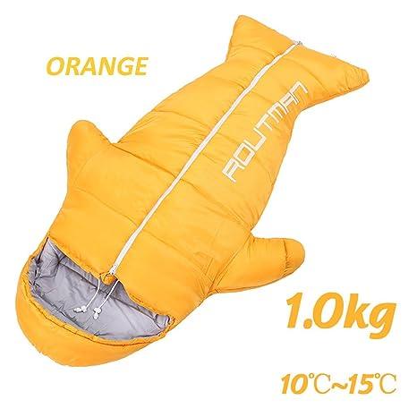 Saco De Dormir Tipo Momia ,Orange