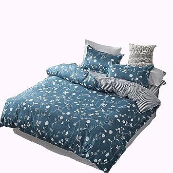 Mmtc Stilvolle Einfache Warme Bettwäsche Aus Aloe Vera Baumwolle