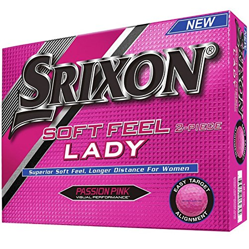 Srixon-Soft-Feel-Womens-2016-Golf-Ball-One-Dozen