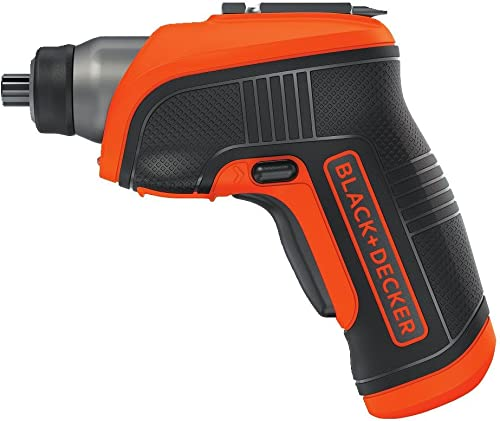 BLACK DECKER 4V MAX Cordless Screwdriver with LED Light BDCS30C