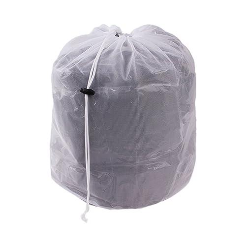 EJY Sacs à linge, Cordon de serrage mesh laver sacs, Sacs de blanchissage, filet de lavage de chemisier/ soutien-gorge/ sous-vêtements ou chaussettes (M)
