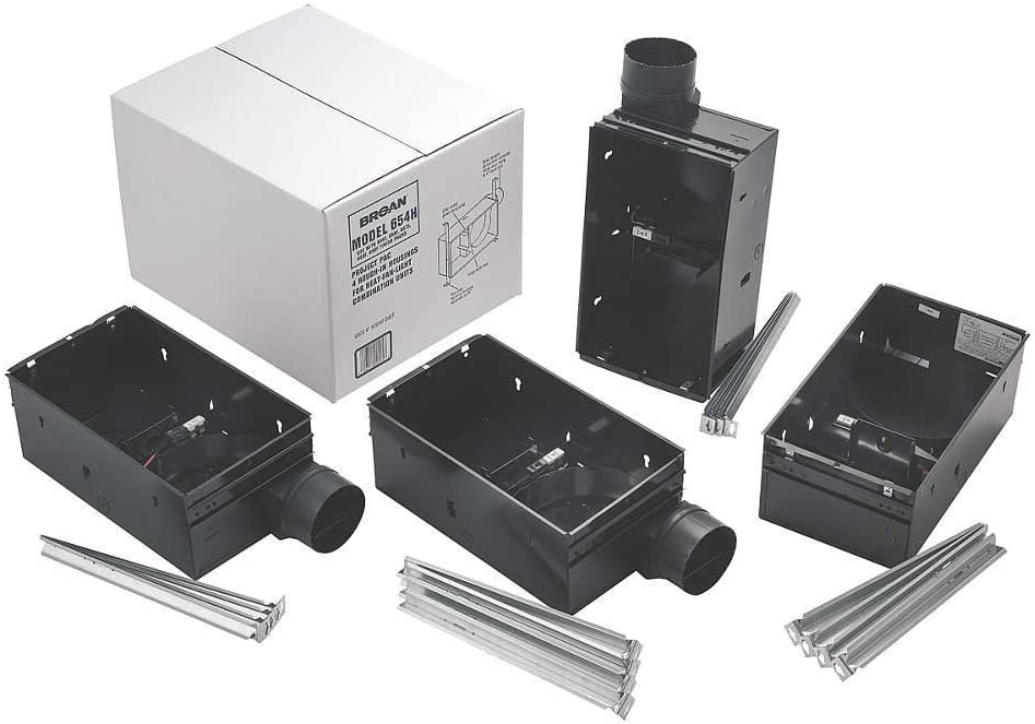 Broan 654H Housing Pack for Models 655F, 656F, 657F, 658F and 659F (Damper/Duct Connector Included) Type IC