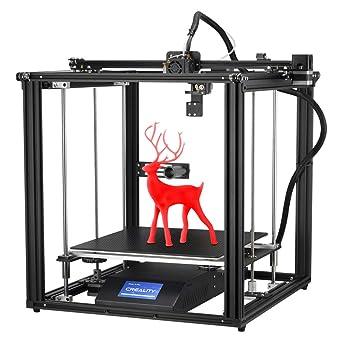 Impresora 3D oficial Creality Ender 5 Plus instalada con BLtouch ...