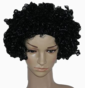 Afro capelli ricci uomo