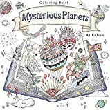 img - for Mysterious Planets: A Coloring Book book / textbook / text book